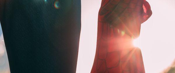 super hero reveal